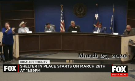 Mandatory Shelter In Place Order Issued for Hidalgo County (Updated)