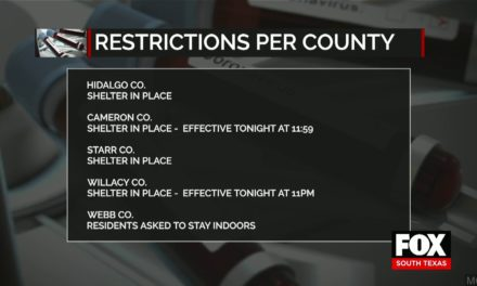 """Shelter in Place"" Orders in the Majority of RGV Counties"